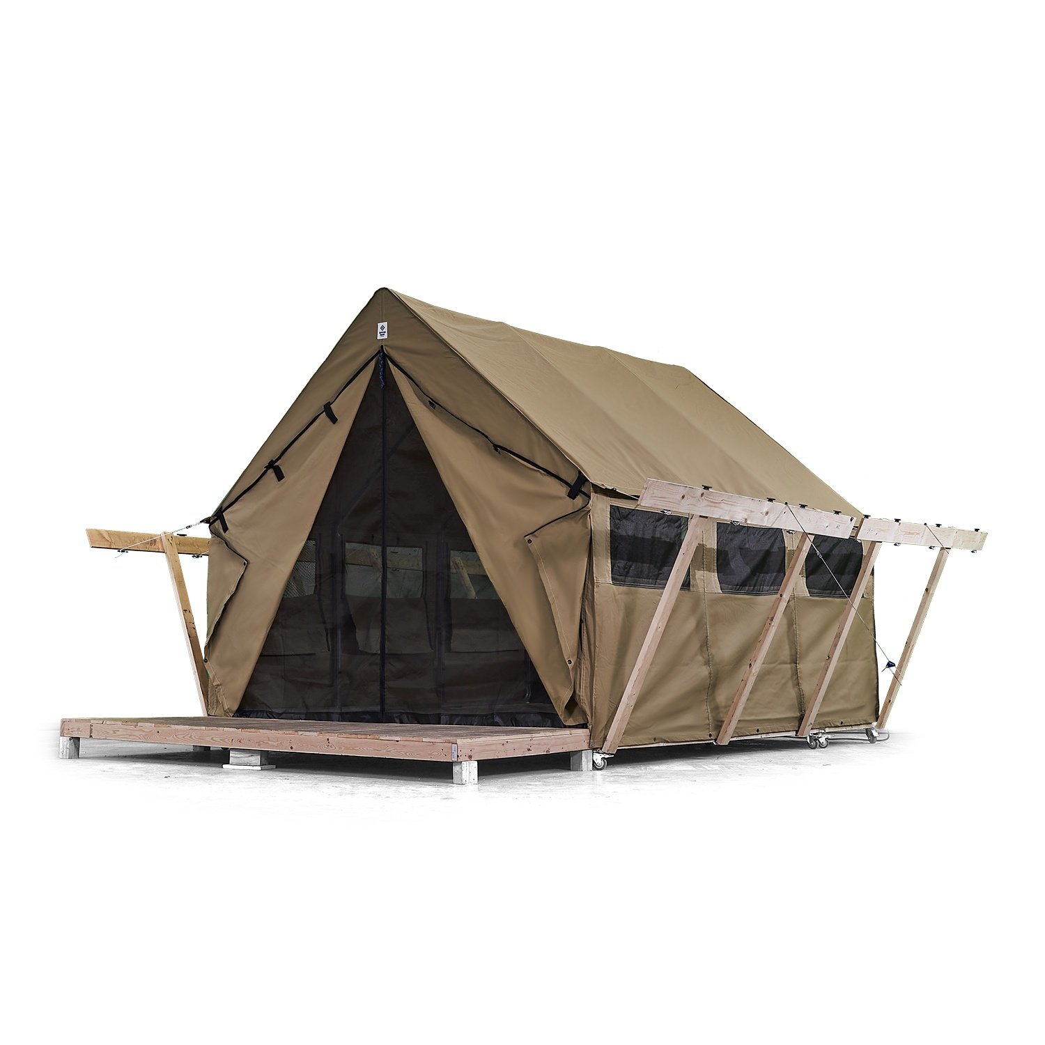 1012 Atlas Wall Tent with optional screen