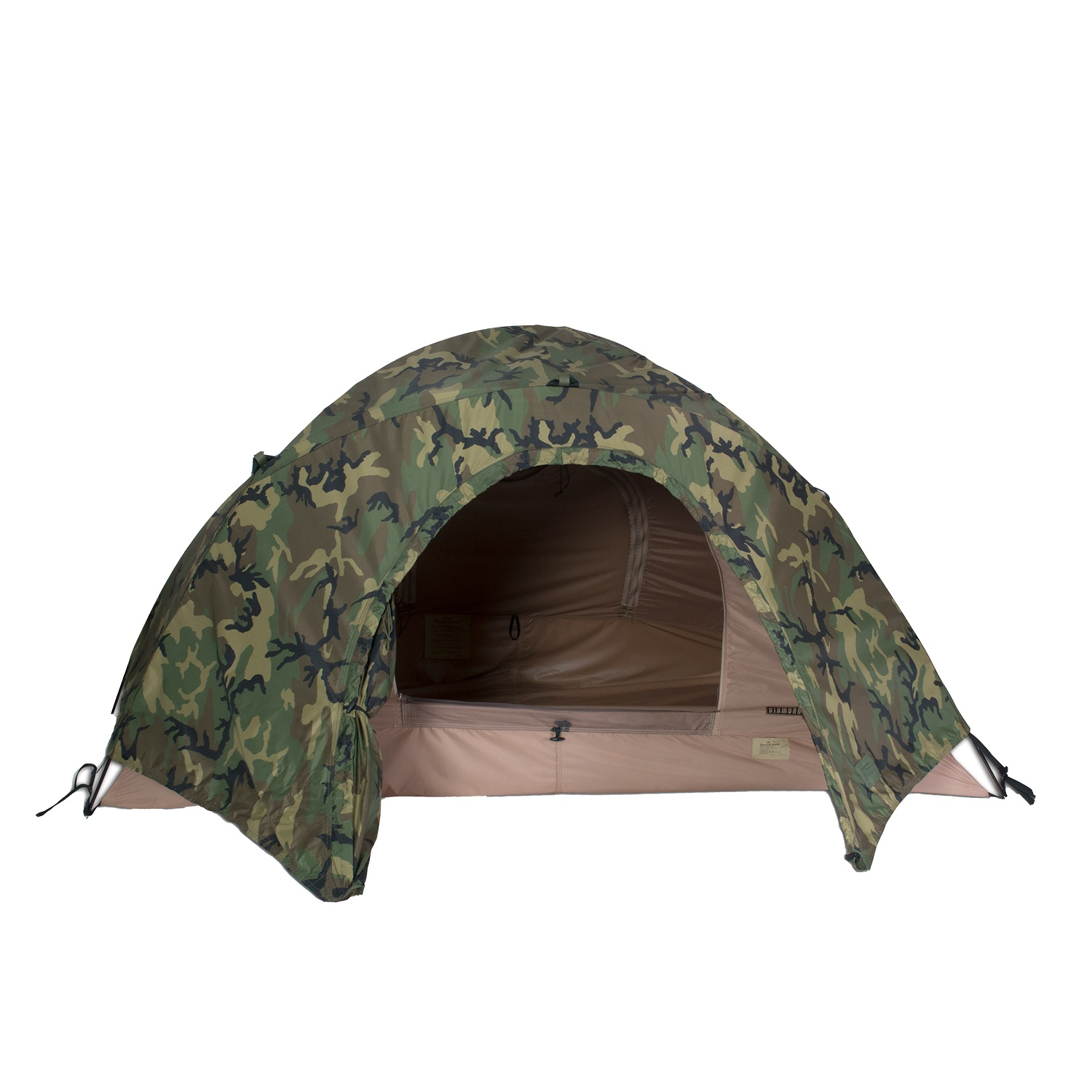 Combat II Tent with Camo Rainfly